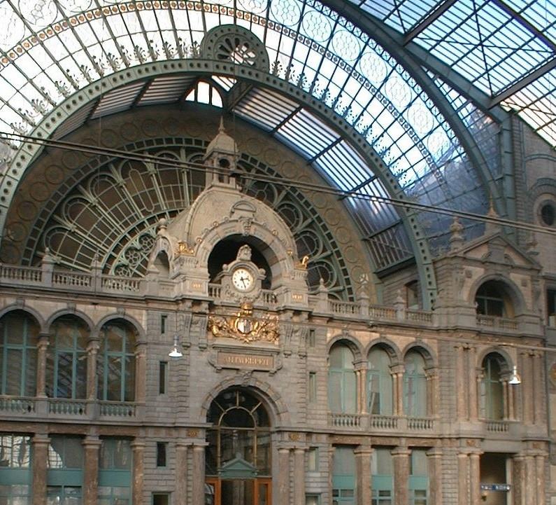 Mooiste station van België, via Wikipedia.