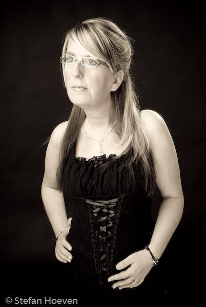 Fotoshoot in 2006.