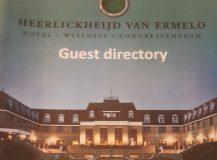 """Birthday weekend in hotel """"De Heerlickheijd"""" Ermelo, the Netherlands."""