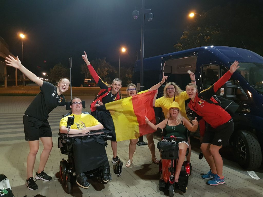 Victory for Belgium