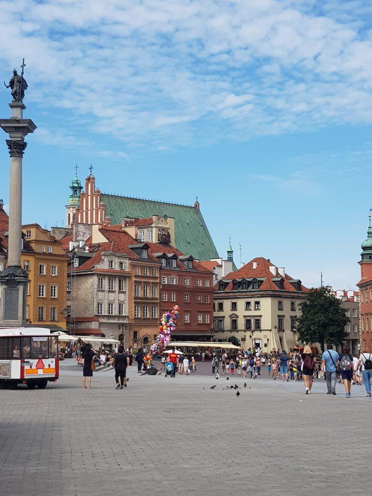 Warschau old town