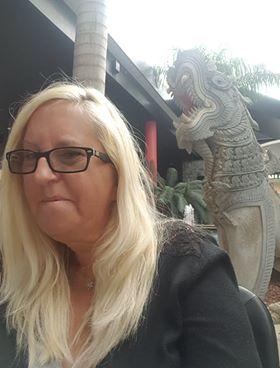 Nadine and dragon