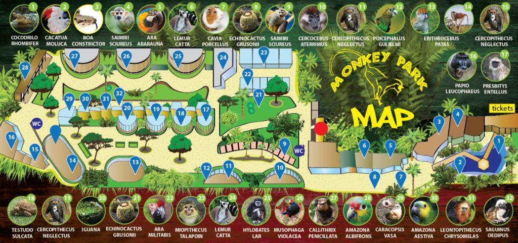 Monkey Park plan
