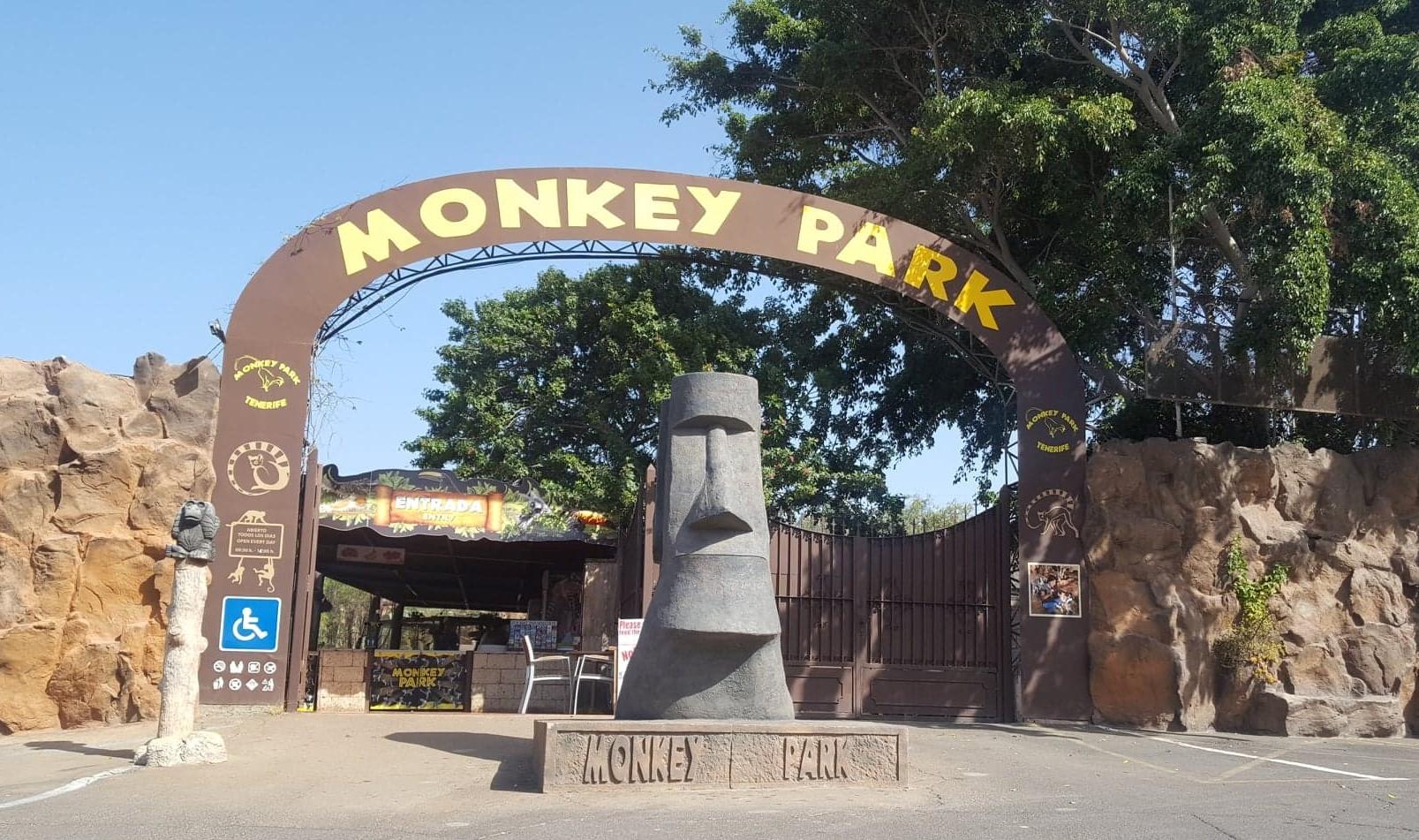 Monkey Park.  Leuk!