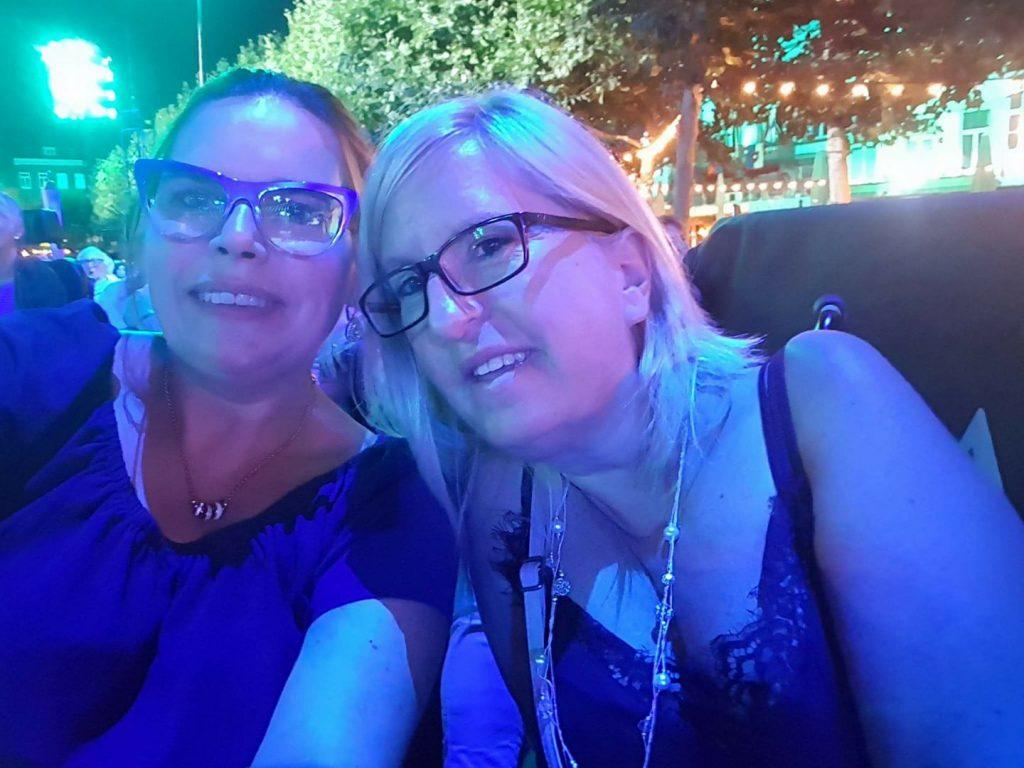 Carine and Nadine at Maastricht