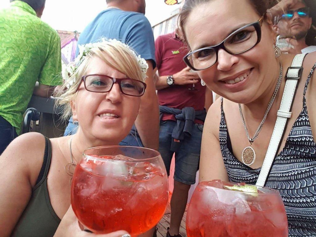 Carine and Nadine at TML