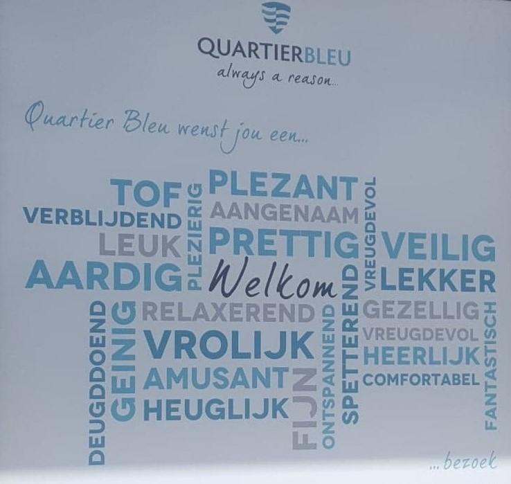 Quartier Bleu.