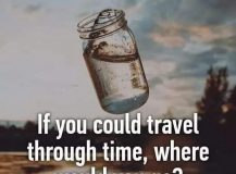Traveling through time …