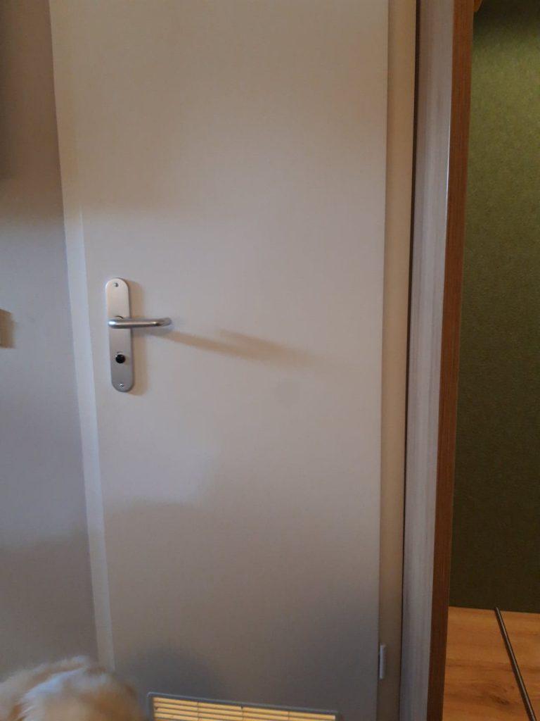 small bathroom door