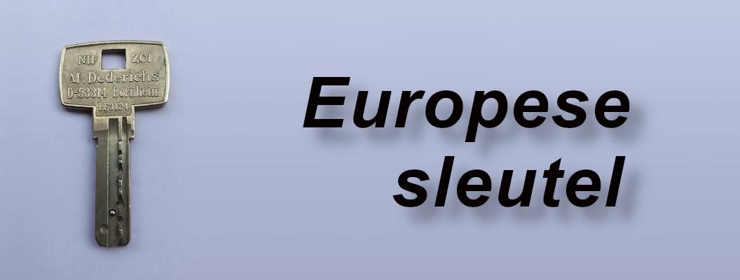 De Europese sleutel opent toilet-deuren!