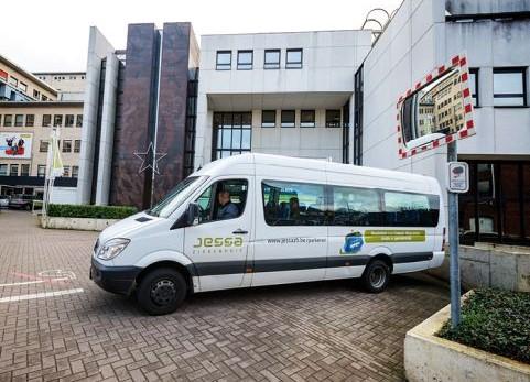 Met het pendelbusje van Jessa Ziekenhuis naar Salvator Ziekenhuis … NOT.