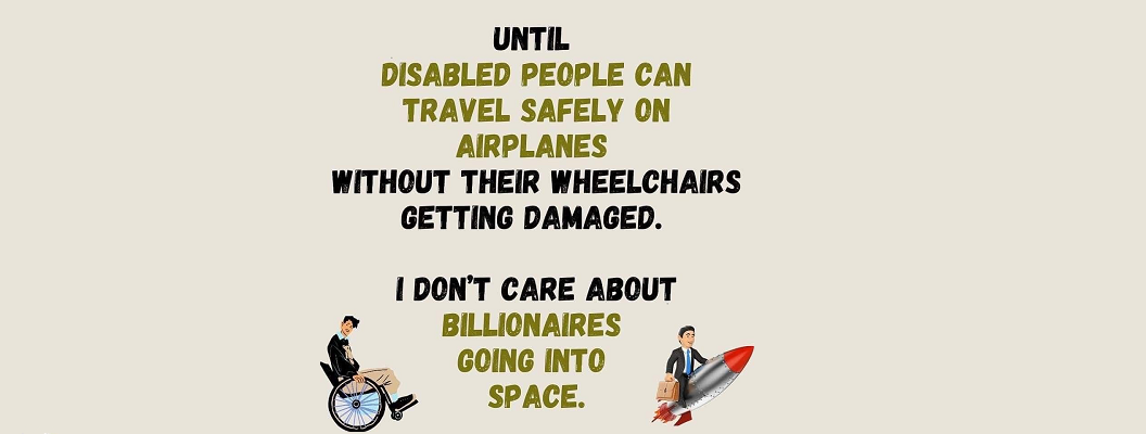 Airlines and wheelchairs … not a good match …