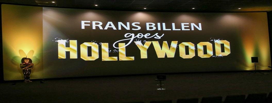 'Frans Billen goes Hollywood' … en ik mocht eventjes mee …