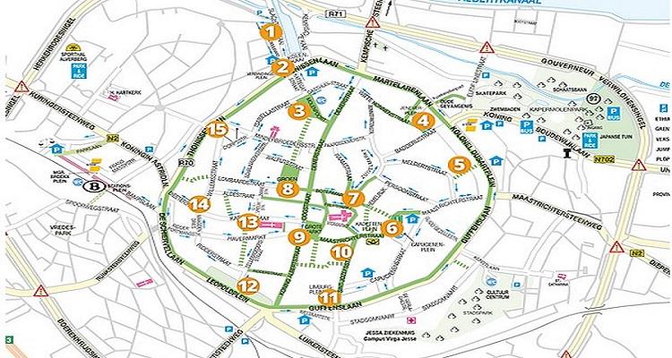 Kleurrijke eendjes in Hasselt!